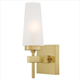 Chaddsford Modern Wall Sconce by Westinghouse in Champagne Brass