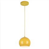 Adjustable Mini Modern Globe Pendant by Westinghouse - Yellow