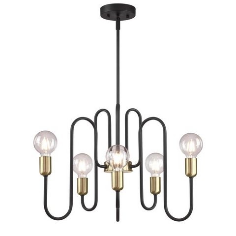 Spencer Six-Light Modern Chandelier by Westinghouse