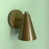 Mini Bullet Wall Sconce for Vintage Camper Trailers by Practical Props