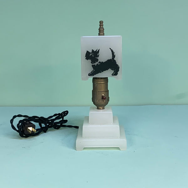 Scottie Dog Accent Lamp