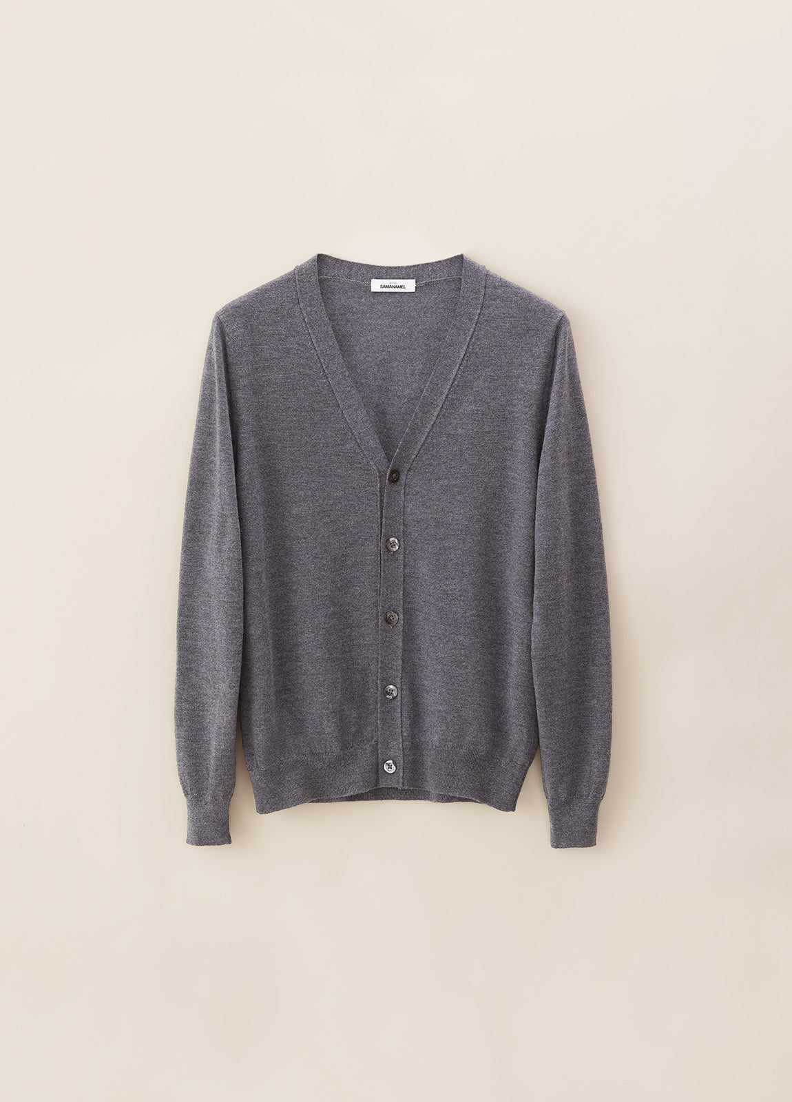 Cardigan Merino - Grey