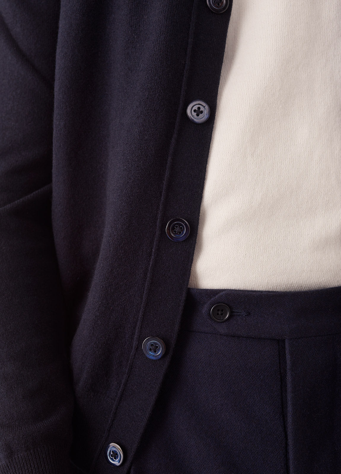 Cardigan Cashmere - Navy