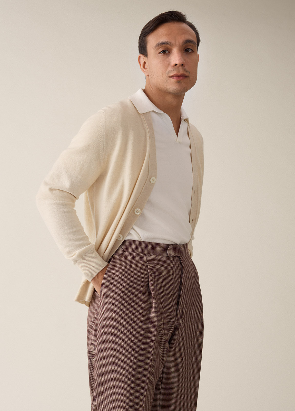 Cardigan Cashmere - Off White