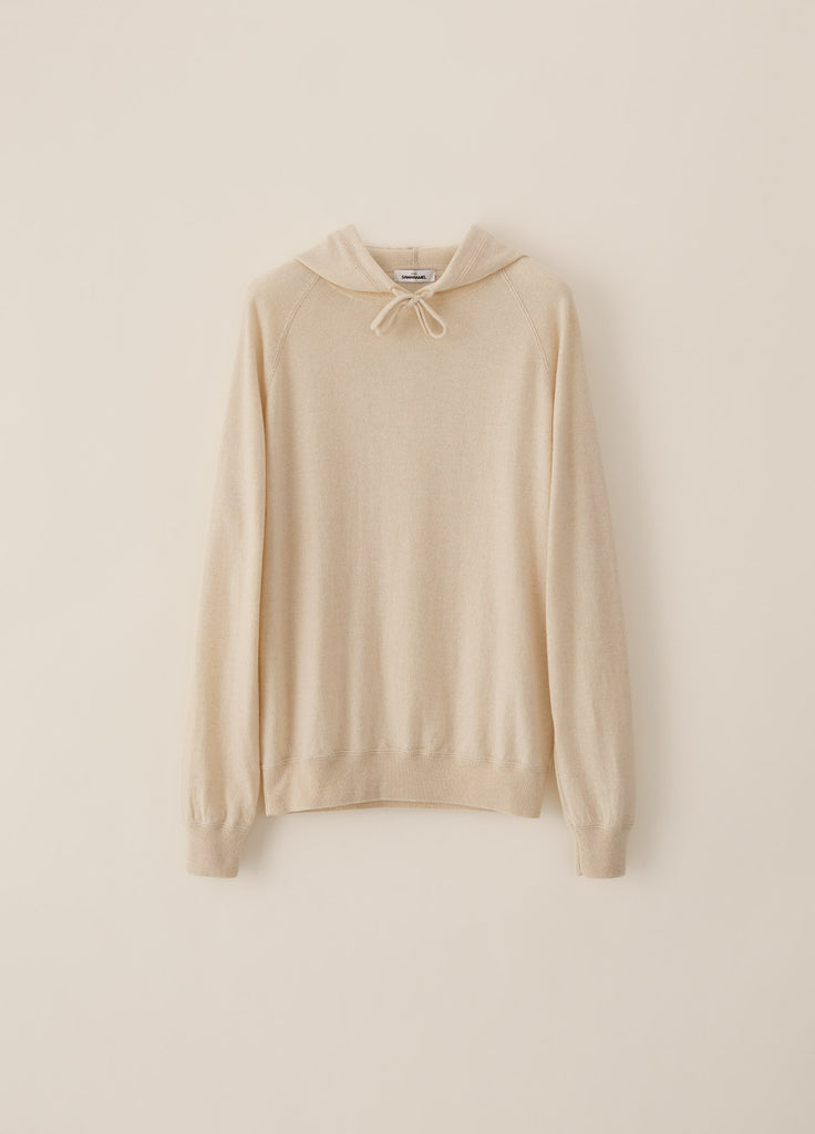 Amo Hoodie Cashmere - Off White