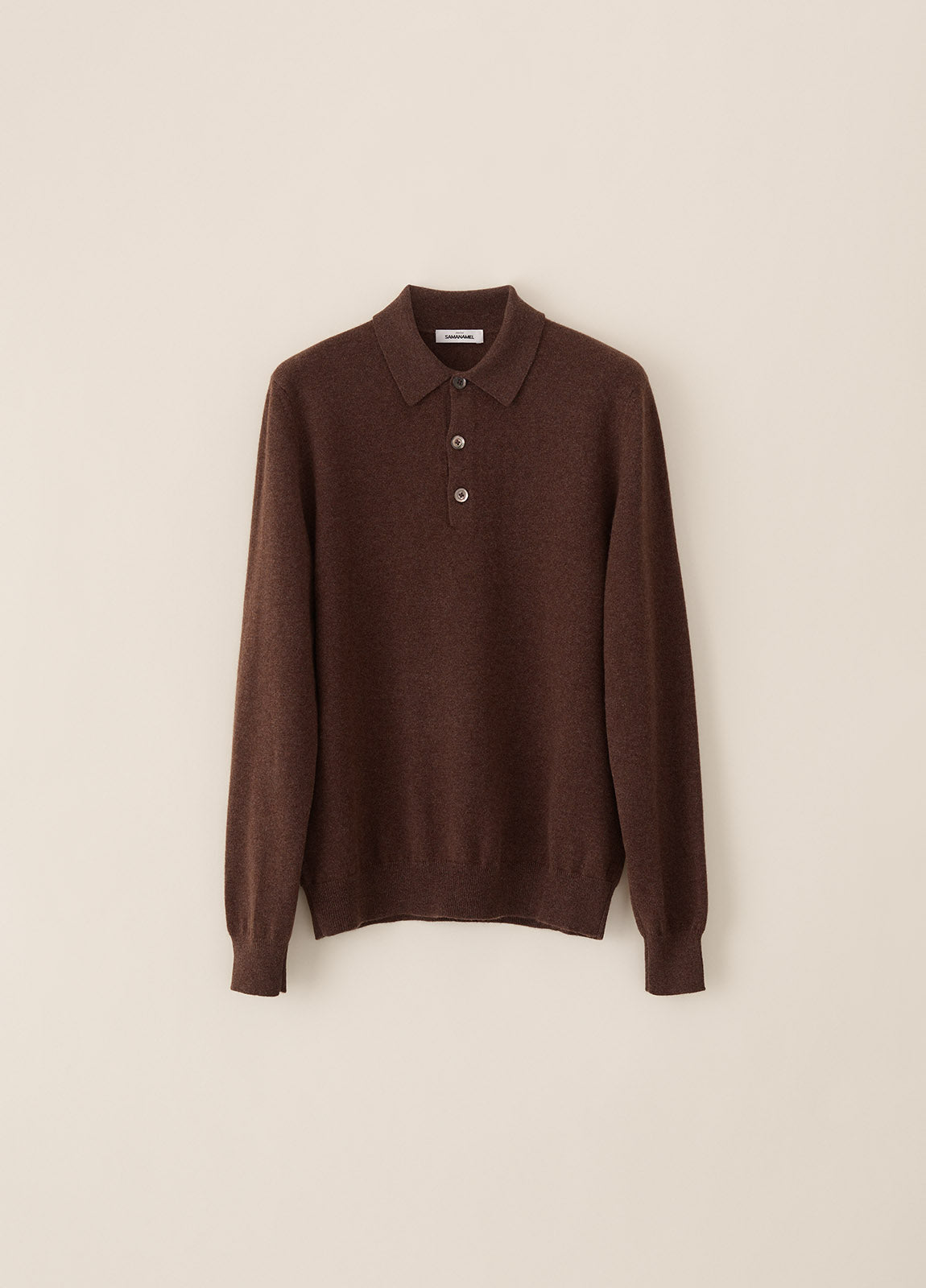 Amo Polo Cashmere - Brown