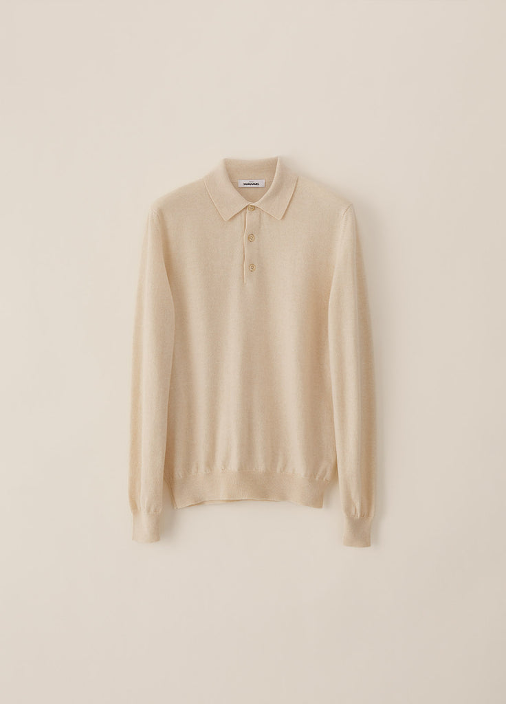 Amo Polo Cashmere - Off White