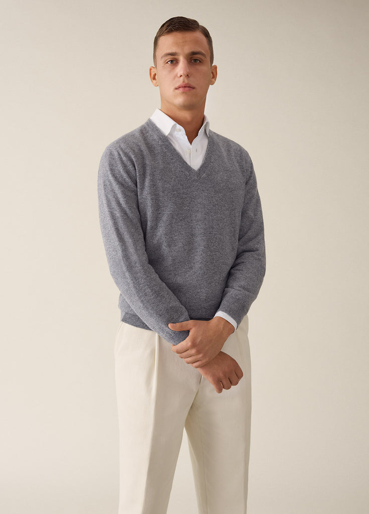 Amo V Cashmere - Light Grey