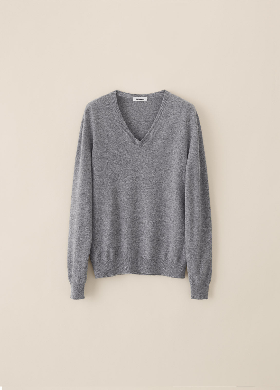 V Cashmere - Light Grey