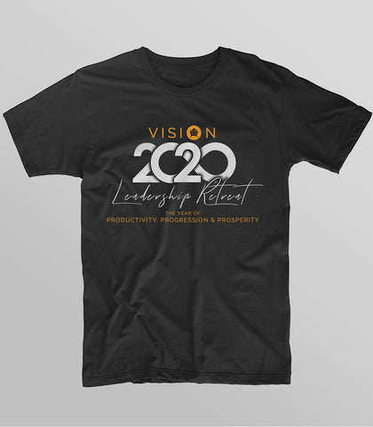 Leadership Retreat 2020 T-Shirt (Short Sleeved)
