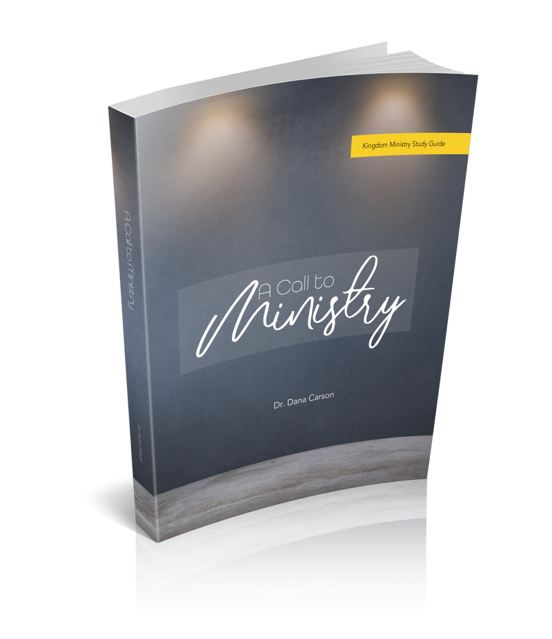 A Call to Ministry Kingdom Ministry Study Guide