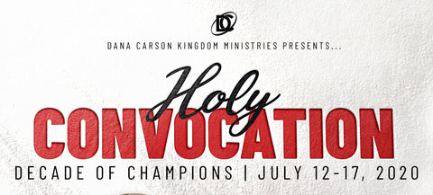 Holy Convocation 2020 Registration