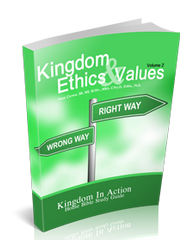 Kingdom Ethics & Values Vol. 2 Kingdom Devotional Guide