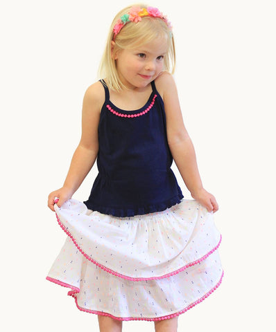 Colour Pop Skirt | Ethical Kids Clothes | Fair Trade Clothing | Ethical Clothing