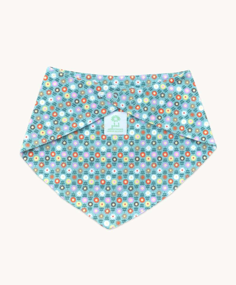 Flower Pot Hanky Bib