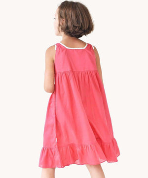 Beautiful Strawberry Cotton Nightdress