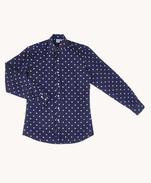 Blue Star Men's Casual Shirt