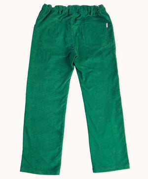 Bottle Green Corduroy Pants
