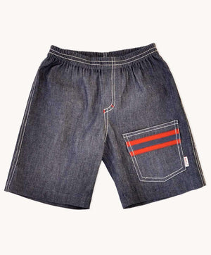Charcoal Denim Explorers Shorts