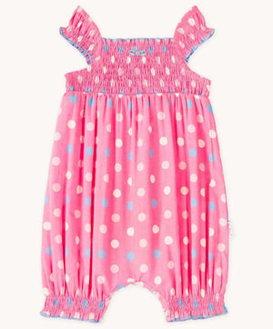 Cute Bebe Polka Dot Playsuit