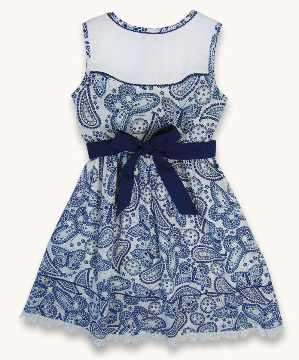 Ditsy Butterfly Dress