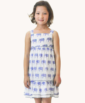 6d4a923ad85 Elephant Sundress Girls Summer Designer Clothing Fair Trade Fashion ...