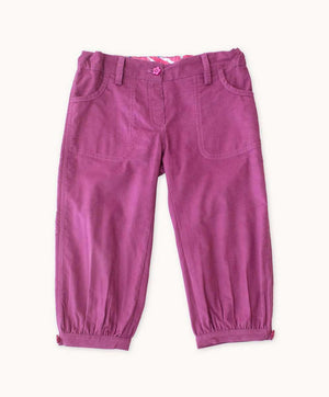 Grape Corduroy Toddler Pants