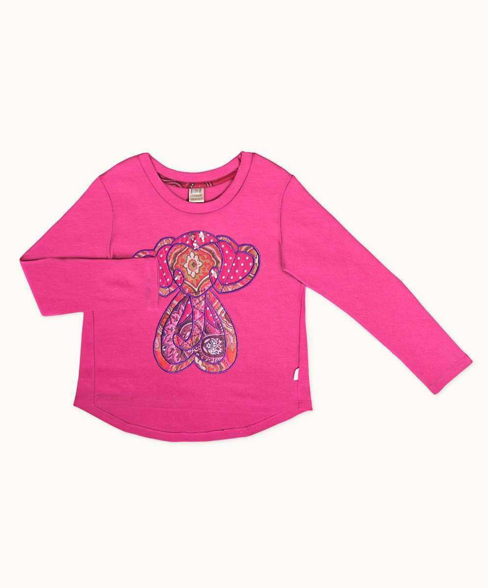 Haveli Ele Little Love Applique Tee