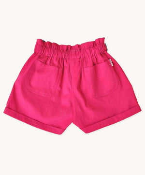 Hot Pink Cotton Shorts