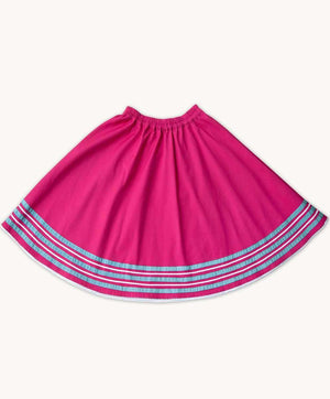 Hot Pink Ribbon Skirt