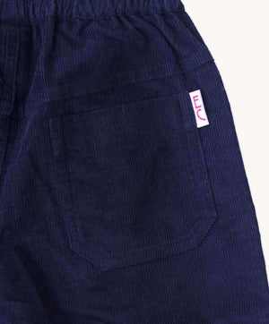 Navy Corduroy Toddler Pants