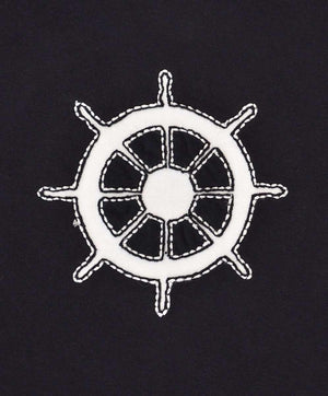 Navy Wheel T-Shirt