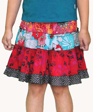 Pack of 5 Colourful Zero Waste Girls Skirts