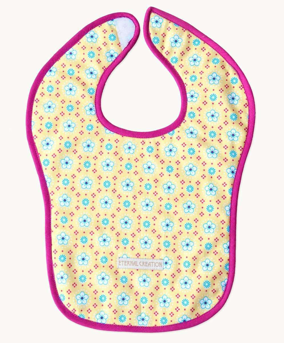 Perfect Pippen Reversible Cotton Bib