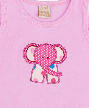 Pretty Pink Elephant Tank Top
