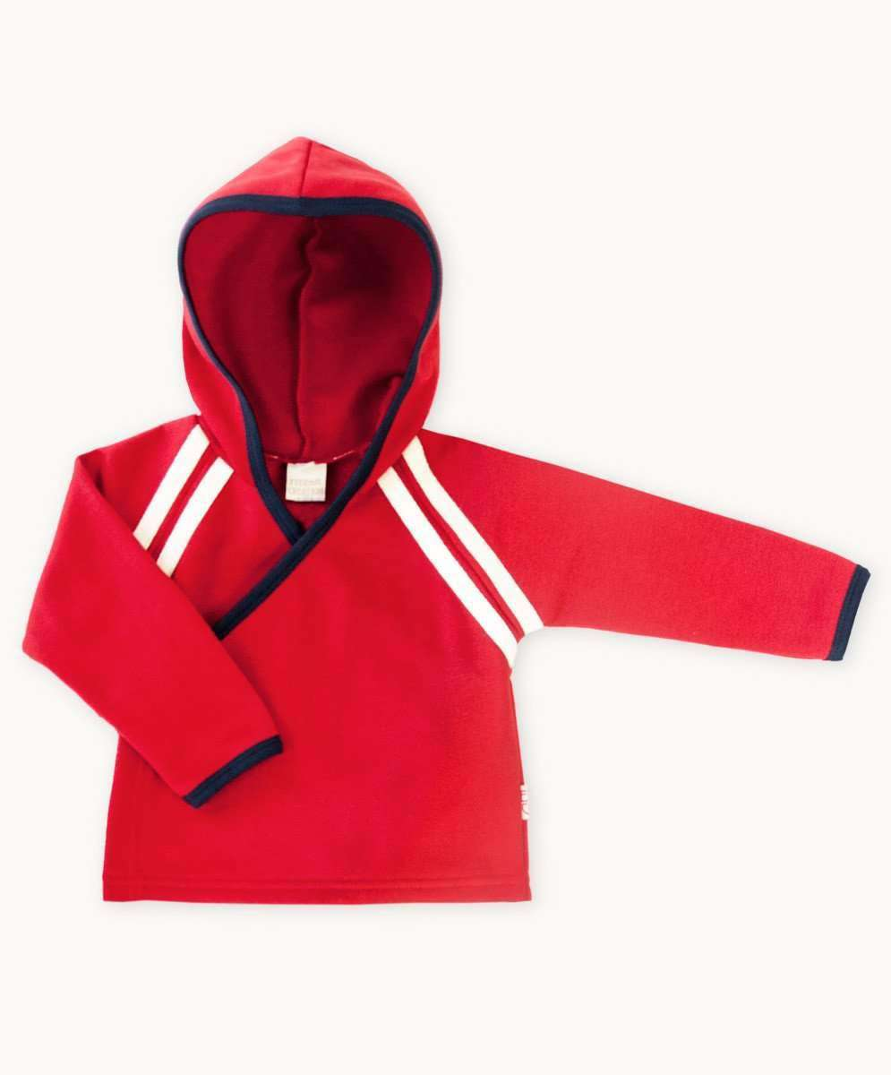 e9c74fc8a5f9 Red Fleece Side Tie Jacket Baby Boys Summer Designer Clothing Fair ...