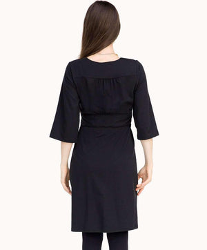 Stylish Black London Dress