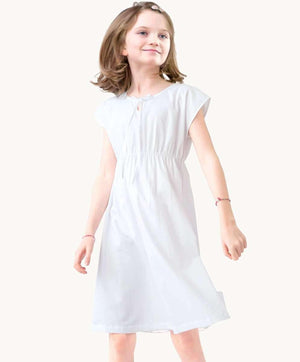 White Poplin Nightdress