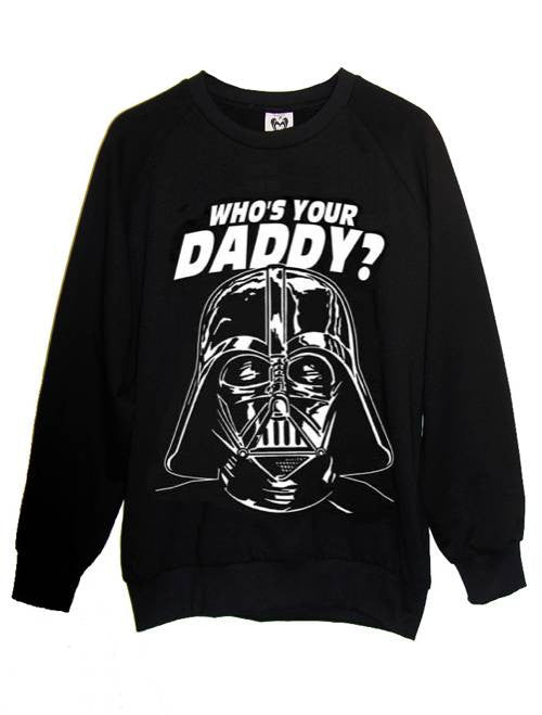 Darth Vader Star Wars Daddy Sweatshirt - IDILVICE Clothing