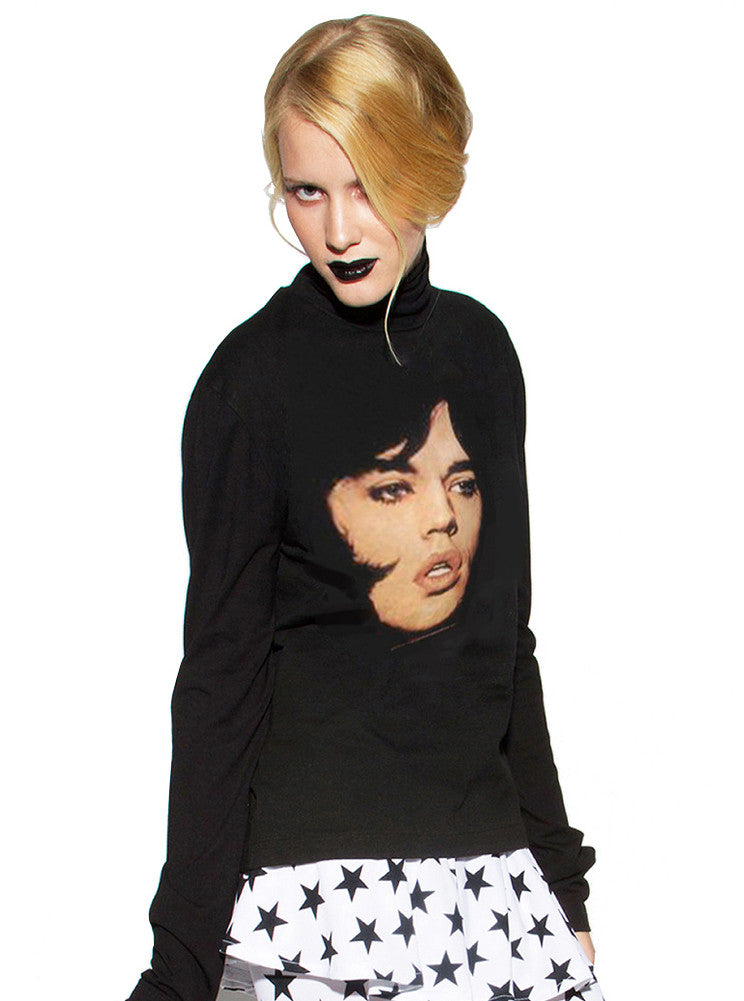 Mick Jagger Rolling Stones Turtleneck - IDILVICE Clothing - 1