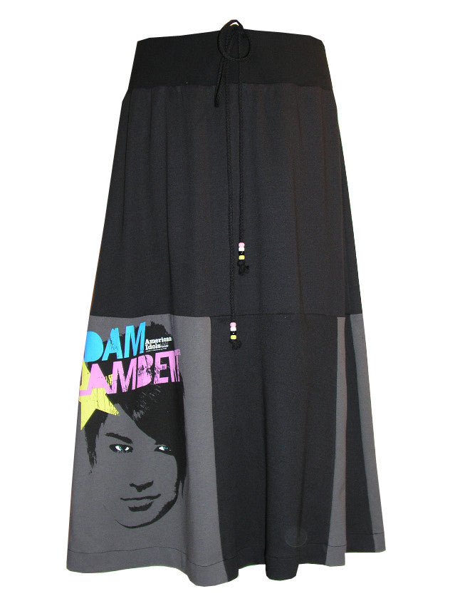 Adam Lambert Long Maxi Patchwork Skirt - IDILVICE Clothing - 1