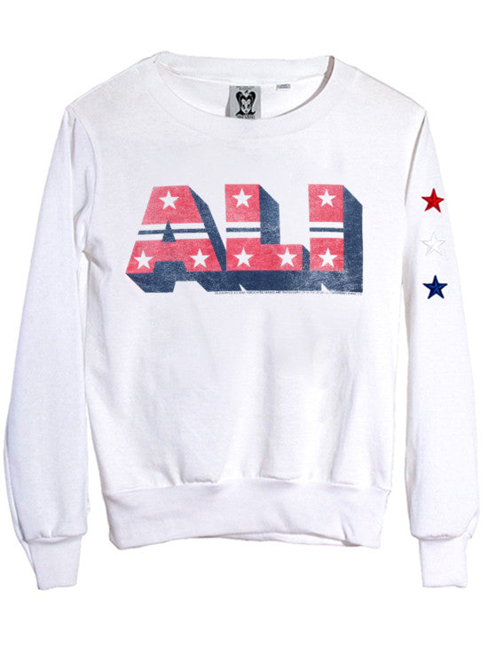 Ali Letters Women's Athletic Jumper - IDILVICE Clothing