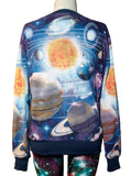 Alien in Galaxy All Over Print Long Sleeve Jumper - IDILVICE Clothing - 3