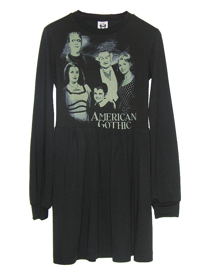 American Gothic The Munsters Tunic Dress - IDILVICE Clothing - 1