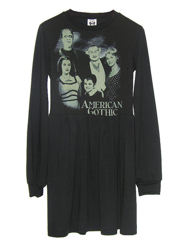 American Gothic The Munsters Tunic Dress