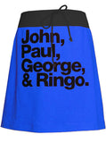 The Beatles John, Paul, George & Ringo T-Shirt Skirt - IDILVICE Clothing - 1