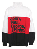 The Beatles Members Turtleneck Sweater - IDILVICE Clothing - 1