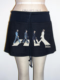 The Beatles London Cross Walk Mini Skirt - IDILVICE Clothing - 2