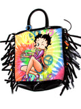 Betty Boop Beaded Fringe Tote Bag - IDILVICE Clothing - 1
