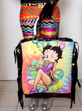 Betty Boop Beaded Fringe Tote Bag - IDILVICE Clothing - 4